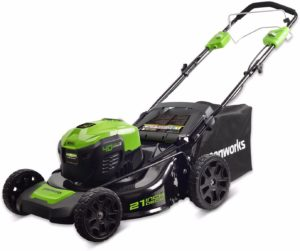 Self-Propelled Cordless Lawn